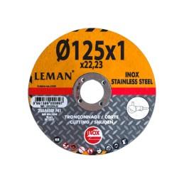 GARY0014331 Foto: webGARY0014331-LEMAN-DISCO-CORTE-METAL-INOX-115X1-0X22-01