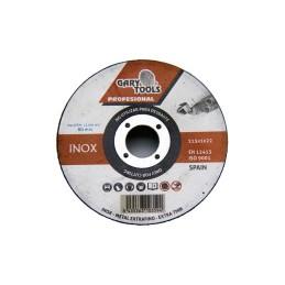 GARY0022455 Foto: webGARY0022455-GARY-TOOLS-T41-DISCO-CORTE-INOX-115x-1-x22-2mm-01