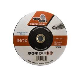 GARY0022454 Foto: webGARY0022454-GARY-TOOLS-T41-DISCO-CORTE-INOX-230x-1-8-x22-2mm-01