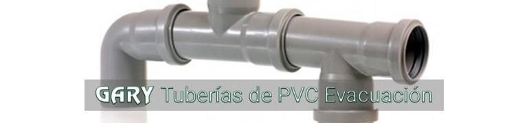 TUBERIAS DE PVC EVACUACION