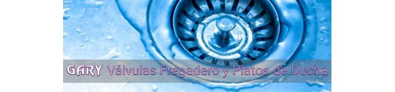 VALVULAS FREGADERO Y PLATOS DE DUCHA